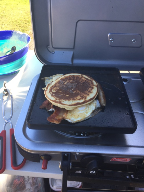 Camping Breakfast of Champions!