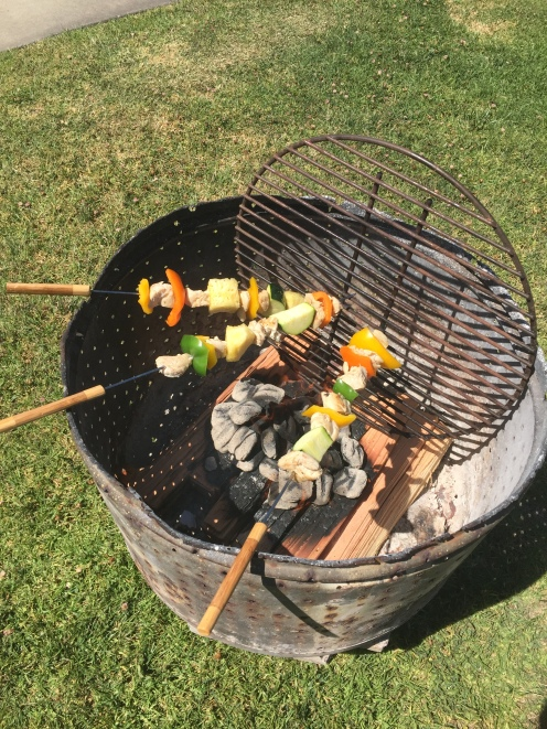 Fire Pits on each site. If you don't have one, just ask!