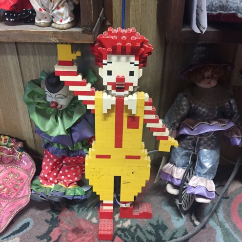 Ronald McD in Legos